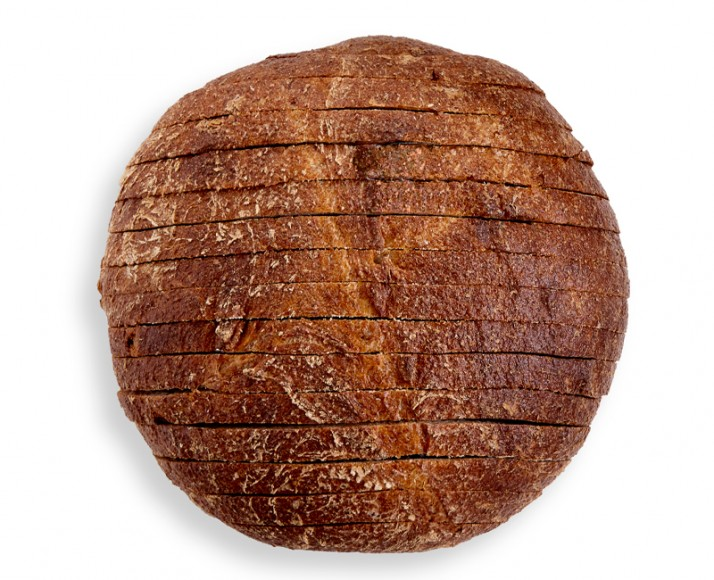 100% Whole Wheat Round Loaf