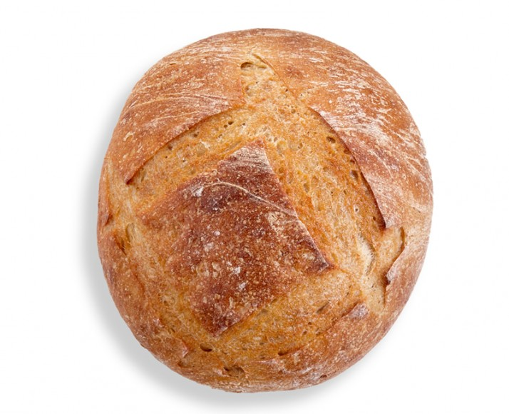 Organic Old-fashioned Round Loaf