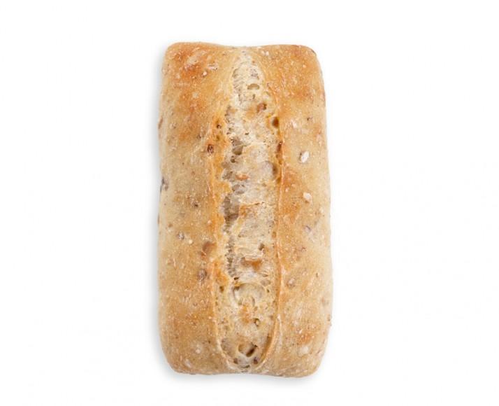 "Multigrain Ciabatta Sandwich Bun (3""x6"")"