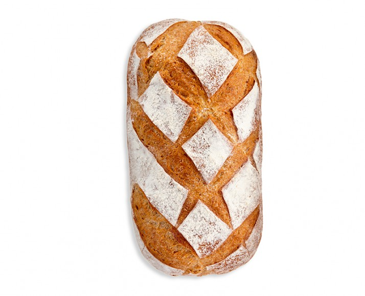 SMALL COUNTRY-STYLE BREAD