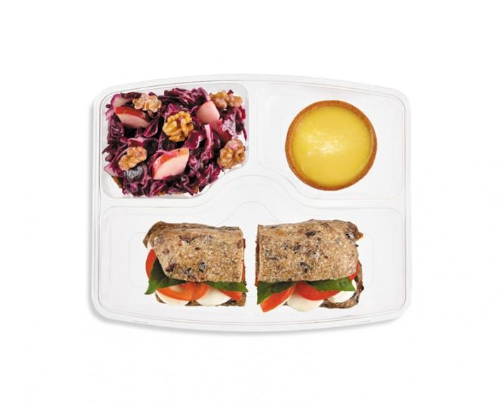 TOMATO & BOCCONCINI SANDWICH IN A MEAL BOX