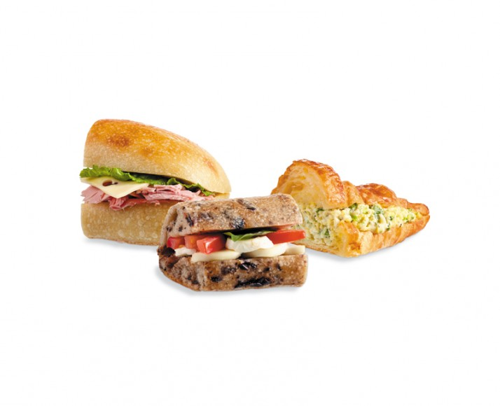 YOUR CHOICE OF SANDWICH