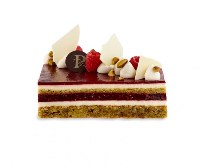 FRAMBOISES-PISTACHES ET CHOCOLAT BLANC