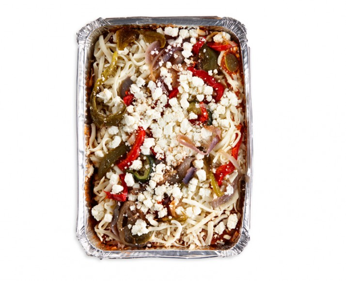 GOAT CHEESE AND VEGETABLE LASAGNA