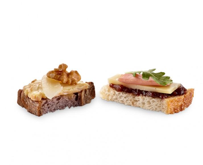 PLATTER OF TAPAS: PROSCIUTTO - NUTS