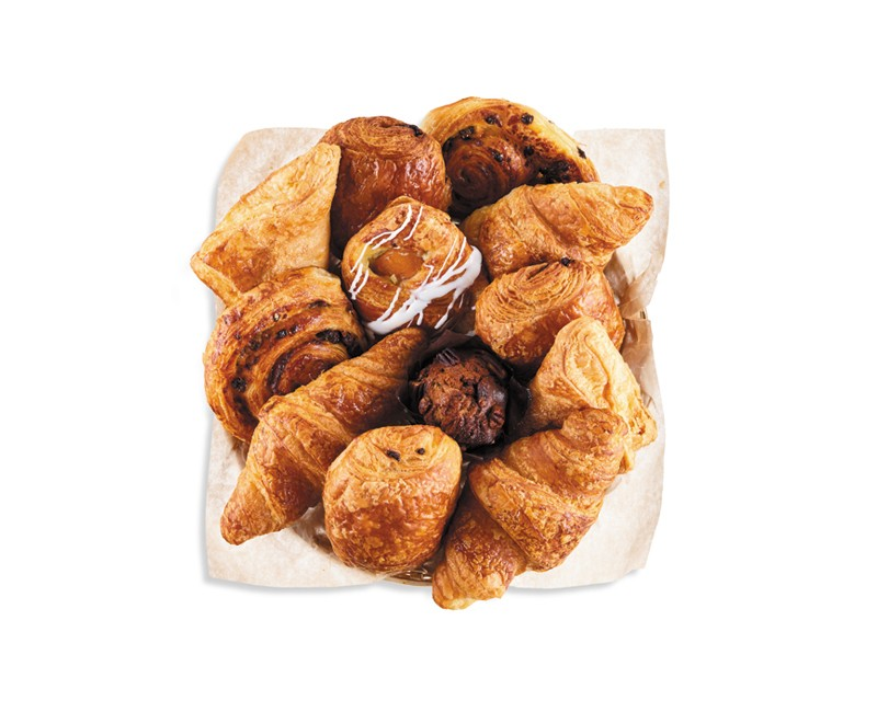 BASKET OF VIENNESE PASTRIES