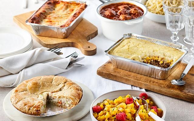 Mets cuisinés et boîtes-repas